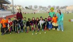 2017.02.26 entrenamiento de carnaval en la Escuela de Hockey